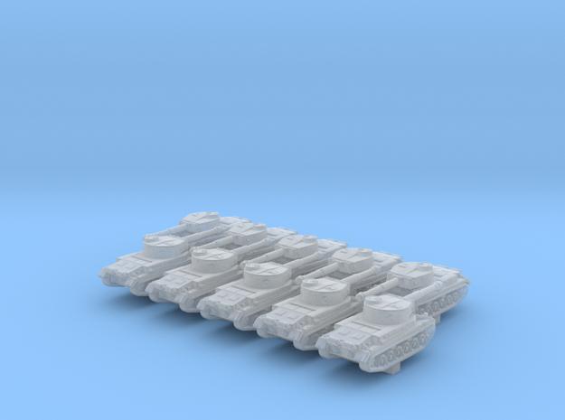 1/600 German VK 30.01 (P) Medium Tank x10 in Smoothest Fine Detail Plastic