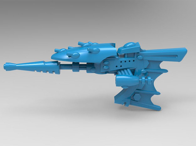 Toxico Class Destroyer in Blue Processed Versatile Plastic: Small