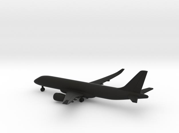 Bombardier CSeries 300 in Black Natural Versatile Plastic: 1:500