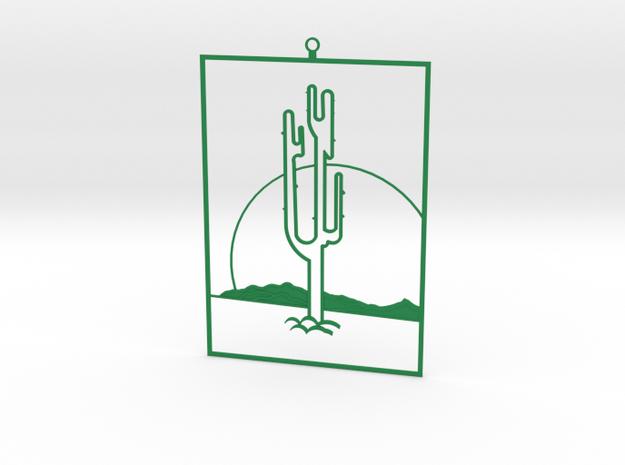 Framed in Green Processed Versatile Plastic