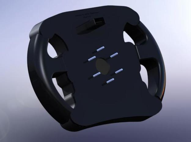 Steering Wheel Back 3d printed Front and Rear attached (REAR VIEW)