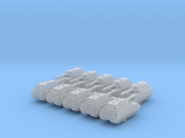 1/700 German Pz. Kpfw. VIII Maus Heavy Tank x10