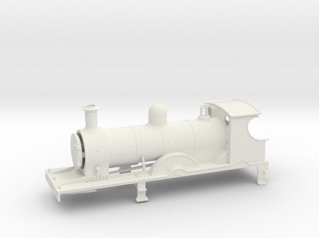FR K2  LATE - Body - WSF in White Natural Versatile Plastic