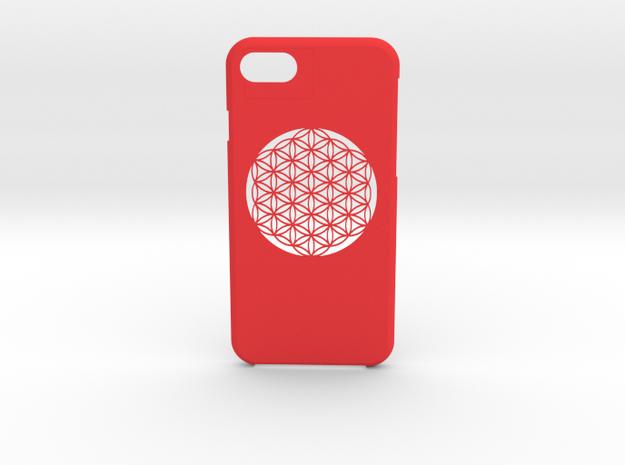 iPhone 7 case in Red Processed Versatile Plastic
