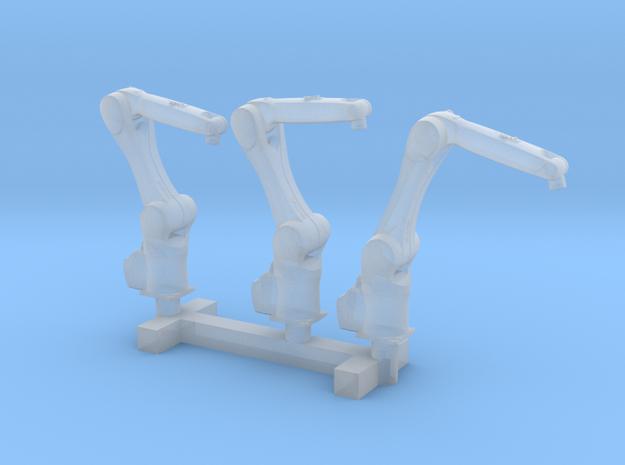 N Scale 3x Robotic Arm