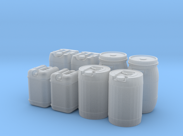 1/14 scale containers in Smooth Fine Detail Plastic