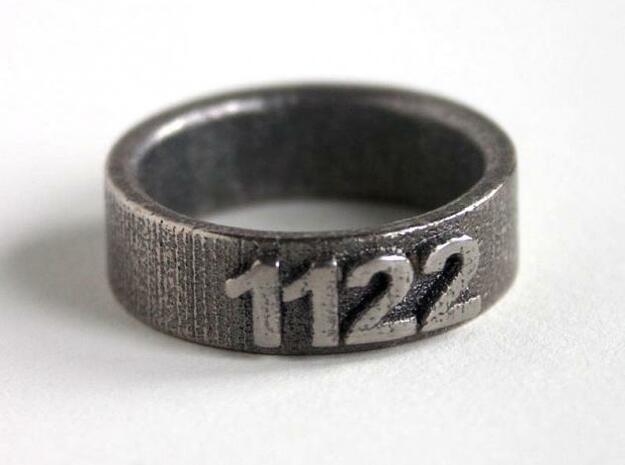 Custom Ring 1122 3d printed Photo 2