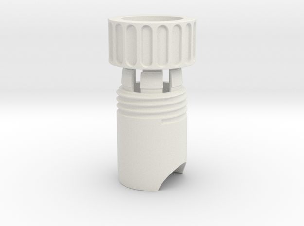 Twist Collet Assy in White Strong & Flexible