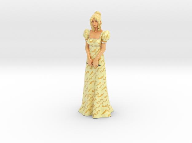 Vanilla Statue in Coated Full Color Sandstone