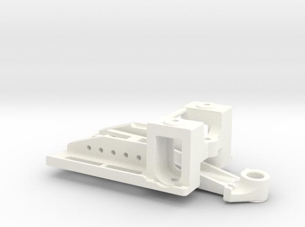 Puente Delantero Flex in White Processed Versatile Plastic