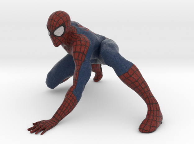 Spiderman in Full Color Sandstone