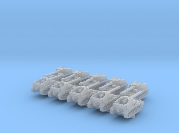 1/600 German Dicker Max Tank Destroyer x10 in Smoothest Fine Detail Plastic
