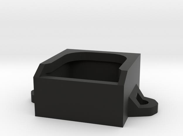 Micro Fan Mount 20x20x10mm in Black Strong & Flexible