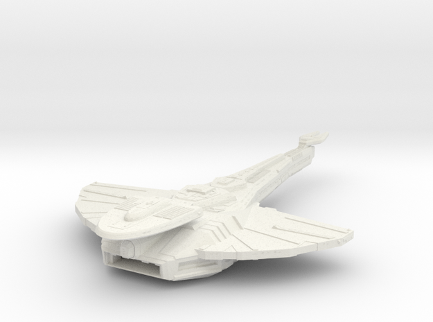 Cardassian Antares Class  Carrier in White Strong & Flexible