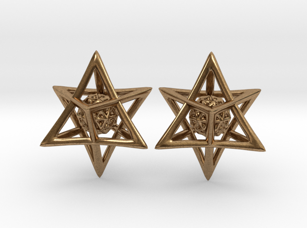 Of Interlocking Triangles and Spheres in Natural Brass (Interlocking Parts)