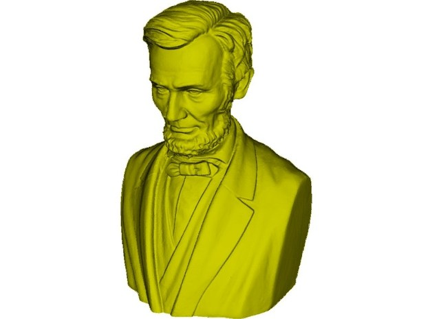 1/9 scale Abraham Lincoln president of USA bust