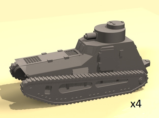 1/220 LK-II light tank (MG armed) in Frosted Extreme Detail