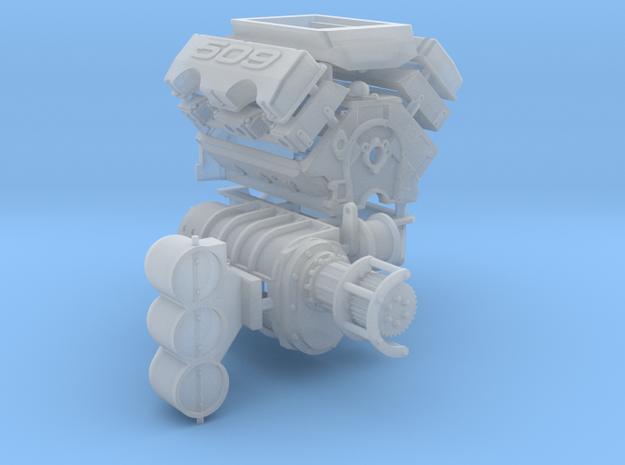 Brodix 1/25 509 Engine 14-71 Blower