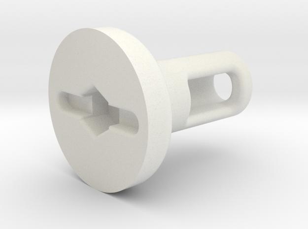 Rotary Kill Key - Style II (UWDooku) in White Strong & Flexible