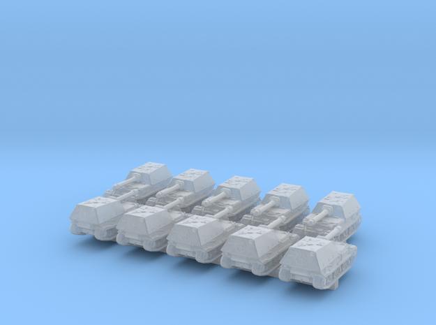 1/700 German Ferdinand /Elefant Tank Destroyer x10 in Smoothest Fine Detail Plastic