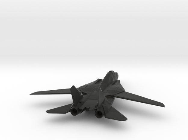 F14 Tomcat Model in Black Strong & Flexible