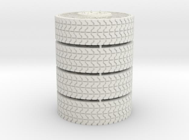 1/25 35inch Tweel airless tire x4