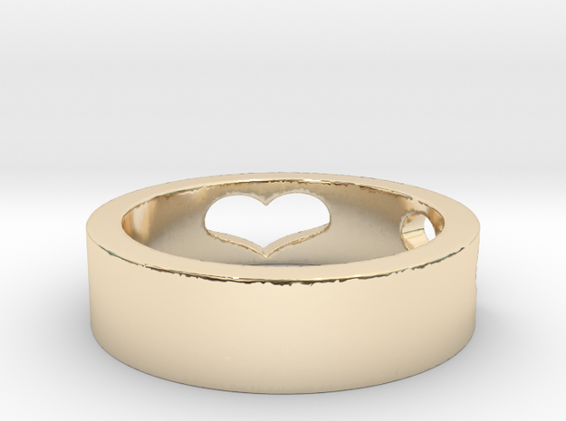 My Love Ring Size 8 in 14K Yellow Gold: 8.25 / 57.125