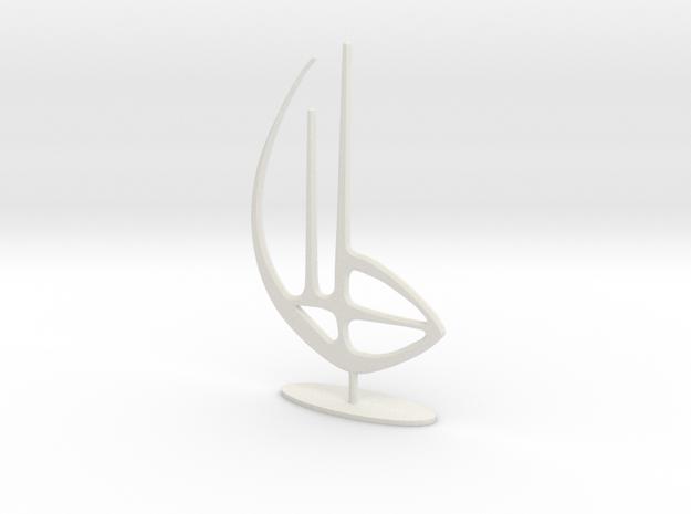 Logo Last Exit in White Natural Versatile Plastic