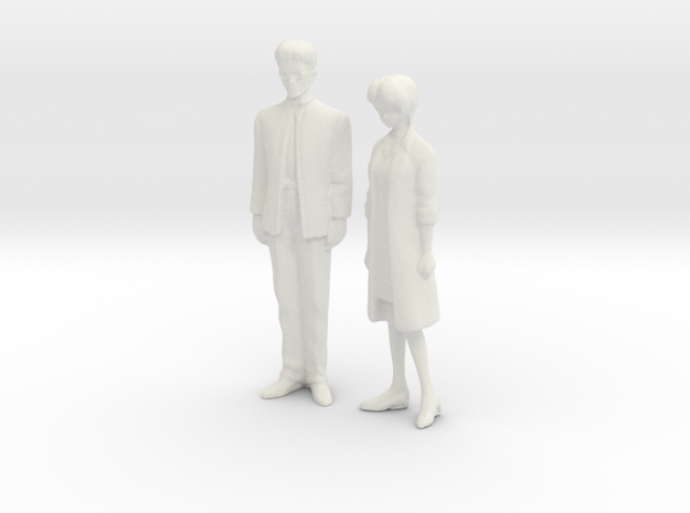 1/43 Parents in White Strong & Flexible