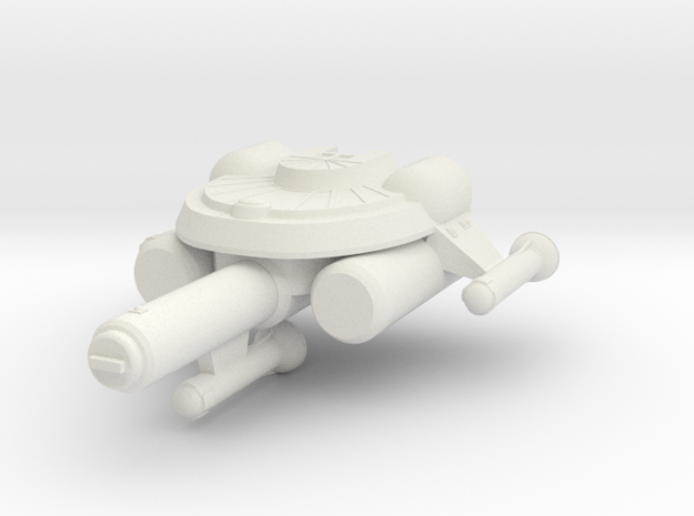 3125 Scale Seltorian Frigate (FF) MGL in White Natural Versatile Plastic