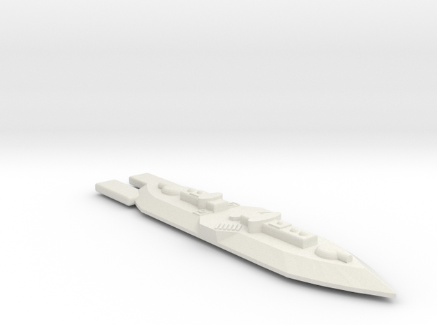 3788 Scale Frax Frigate (FF) MGL in White Strong & Flexible