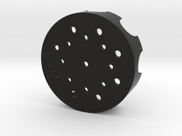 AOTC Pommel Cap in Black Natural Versatile Plastic