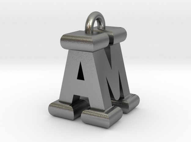 3D-Initial-AM in Natural Silver