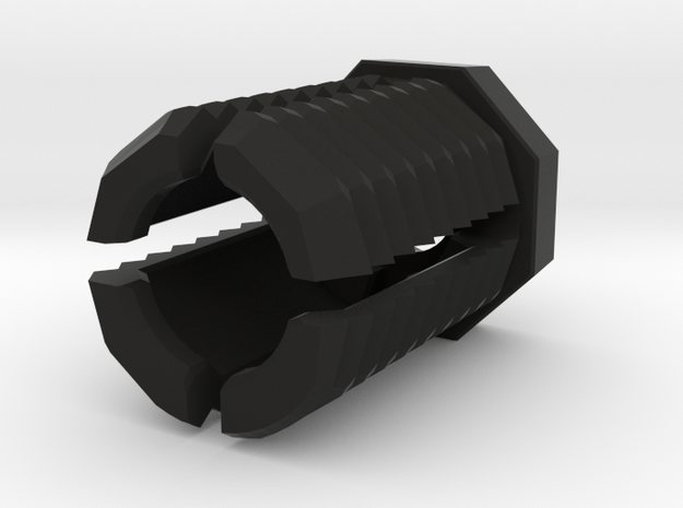 1x M4 Octabolt in Black Natural Versatile Plastic: Medium