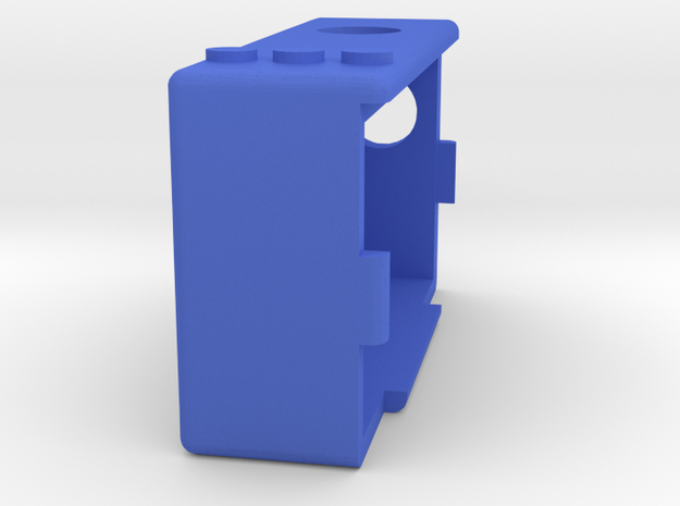 Kmods squonker Pacman  in Blue Processed Versatile Plastic