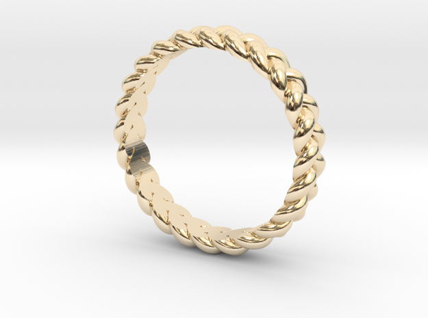 ring pigtail in 14K Gold: 7.75 / 55.875