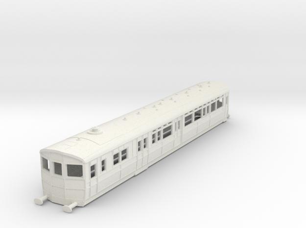 O-100-gwr-diag-q-steam-railmotor1 in White Natural Versatile Plastic