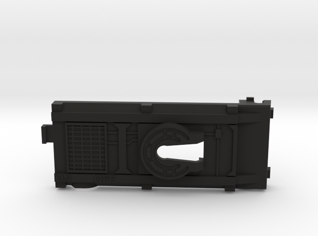 Cab Over Side Switch Battery Cover in Black Strong & Flexible
