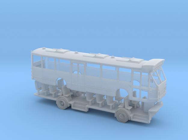 DAF MB200 streekbus met hoge lijnfilmkast schaal N in Smooth Fine Detail Plastic