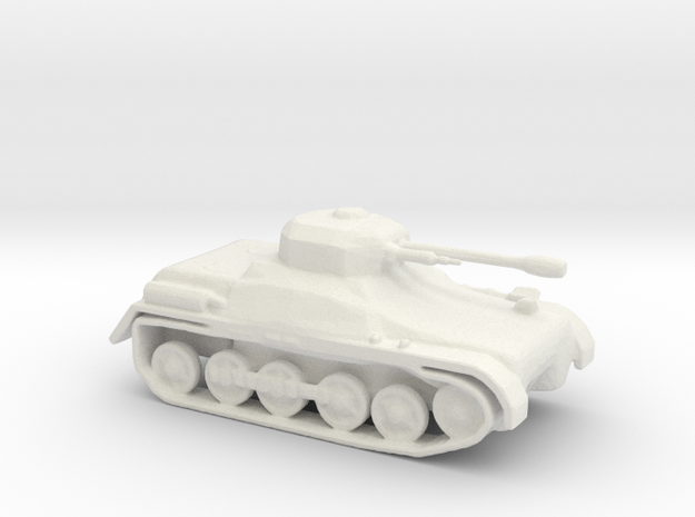 LightTank Infantry Support LTIS in White Natural Versatile Plastic
