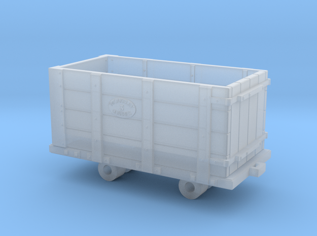 Oakley Quarry Wagon 4mm Scale in Smooth Fine Detail Plastic