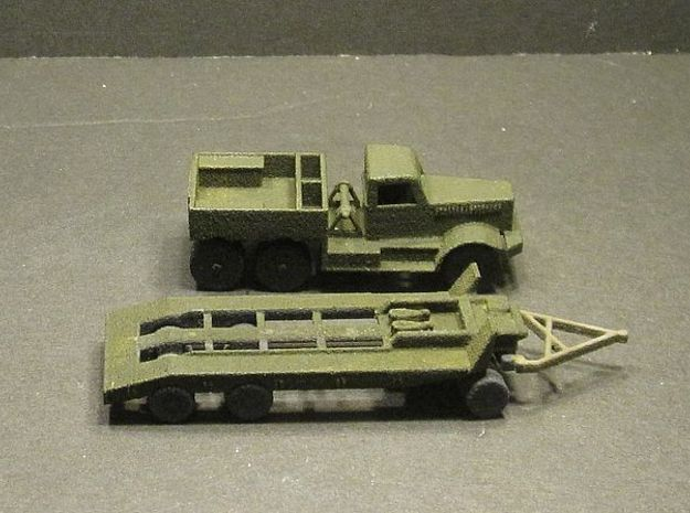 1/144 M19 US tank recovery set in White Natural Versatile Plastic