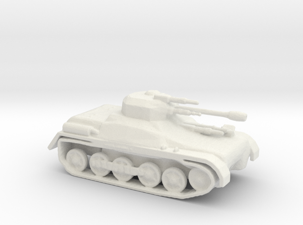 LTIAS Light Tank Infantry Assault Support  in White Strong & Flexible