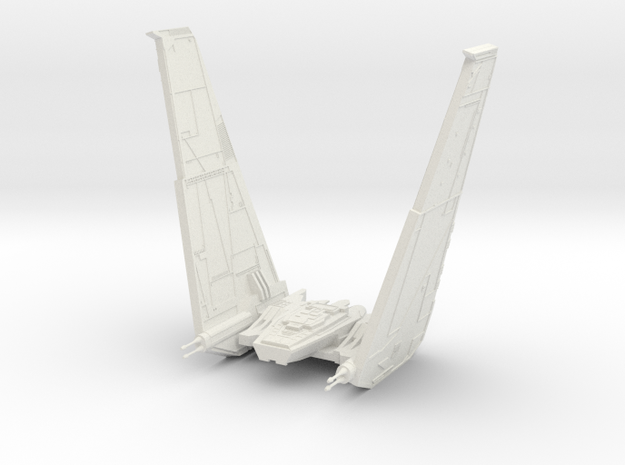 Command Shuttle II in White Strong & Flexible