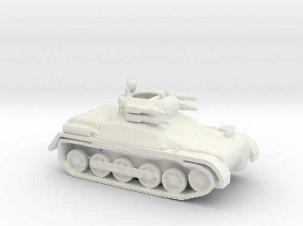 AALT Anti-Air Light Tank in White Strong & Flexible