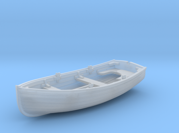 1/144 Scale Allied 10ft Dinghy x10 in Smoothest Fine Detail Plastic