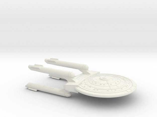 Reimagine TOS Ship in White Natural Versatile Plastic