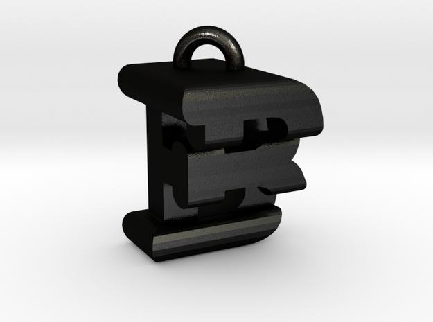 3D-Initial-BF in Matte Black Steel