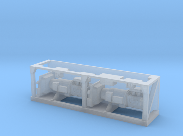 (1:76) Class 90 Underframe Detail in Smooth Fine Detail Plastic