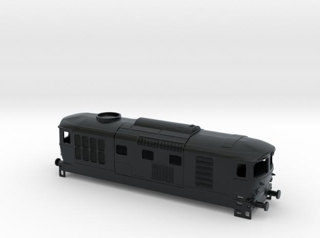 D343. 1001-1040 (FIAT) stato origine in Black Hi-Def Acrylate